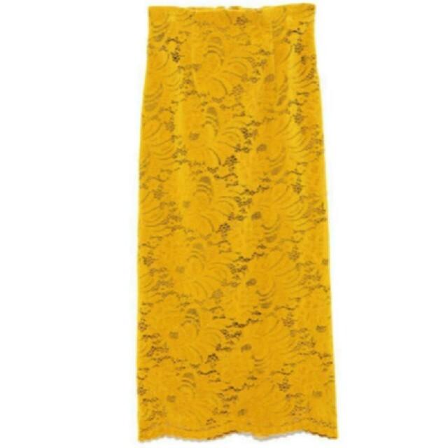 FRAY I.D(フレイアイディー)のFRAY♡レース フロッキー スカート レディースのスカート(ロングスカート)の商品写真