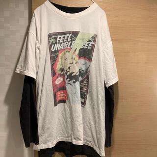 トゥエンティーフォーカラッツ(24karats)の STUDIO SEVEN  FRAGILE LAYERED TEE (Tシャツ/カットソー(七分/長袖))