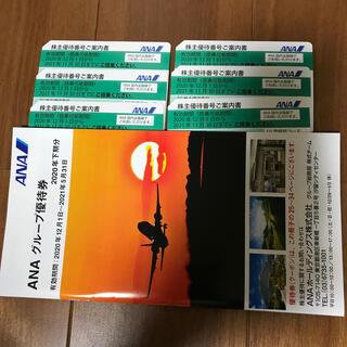 エーエヌエー(ゼンニッポンクウユ)(ANA(全日本空輸))のANA 株主優待券 冊子付き(航空券)