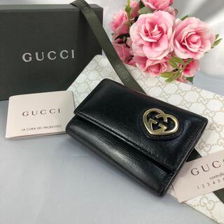 Gucci - RK1 美品 GUCCI グッチ キーケース 6連 ブラック