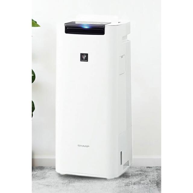 SHARP(シャープ)のシャープ 加湿空気清浄機 KI-JS40W スマホ/家電/カメラの生活家電(加湿器/除湿機)の商品写真