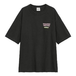 GU - GU鬼滅の刃ビックTシャツ禰豆子