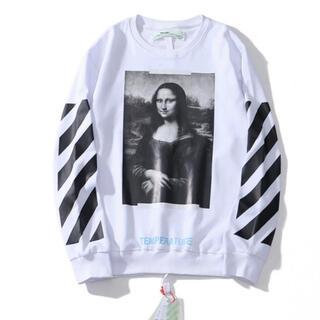 OFF-WHITE - Off white オフホワイト 白 長袖Tシャツ トレーナー M