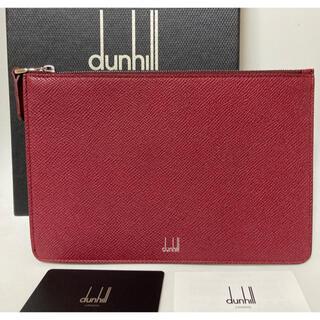 ダンヒル(Dunhill)のあかクラッチバッグ新品未使用ダンヒル (セカンドバッグ/クラッチバッグ)