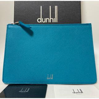 ダンヒル(Dunhill)のグリーンクラッチバッグ新品未使用ダンヒル (セカンドバッグ/クラッチバッグ)