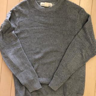 エイチアンドエム(H&M)のH&M ニット セーター グレー S(ニット/セーター)