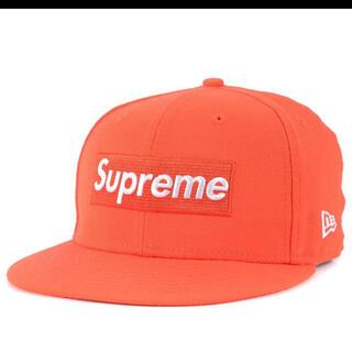 Supreme - 【オレンジ・希少カラー】supreme BOXロゴ ニューエラキャップ