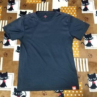 ルコックスポルティフ(le coq sportif)のle coq ルコック Tシャツ 吸汗速乾 メンズ Mサイズ ブラック スポーツ(Tシャツ/カットソー(半袖/袖なし))