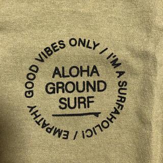 ALOHA GROUND アロハグランデ Tシャツ オリーブ XL(Tシャツ/カットソー(半袖/袖なし))