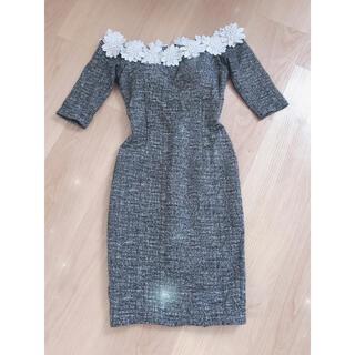 ワンピース ツィードドレス Sサイズ