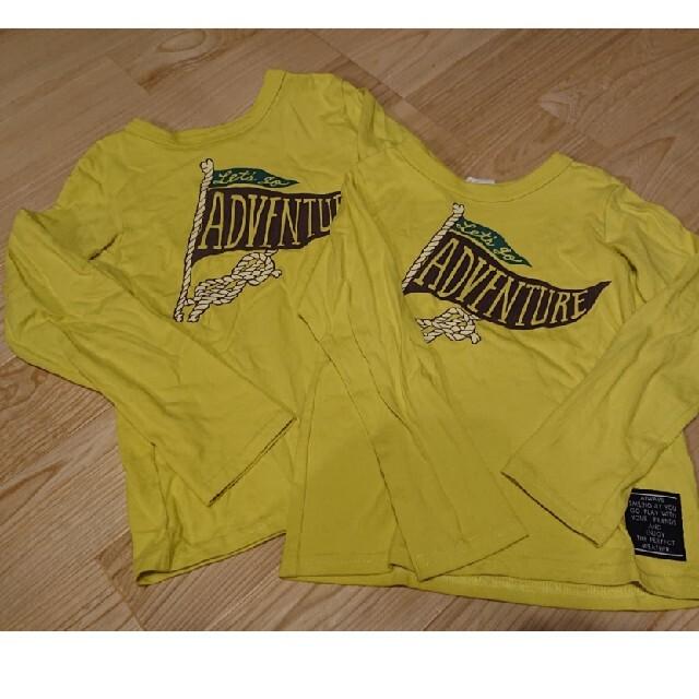 BREEZE(ブリーズ)のBREEZロンT 130cm110cm キッズ/ベビー/マタニティのキッズ服男の子用(90cm~)(Tシャツ/カットソー)の商品写真