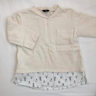 フタフタ(futafuta)のバースデイ トレーナー  95 未使用(Tシャツ/カットソー)