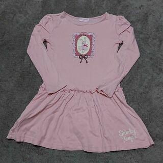 Shirley Temple - シャーリーテンプル うさぎ柄 ワンピース 130