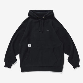 W)taps - 20aw 新品 WTAPS SIGN HOODED COPO BLACK XL