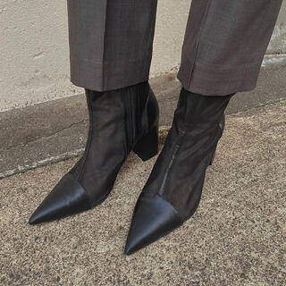 Ameri VINTAGE - 新品 Ameri アメリ ブーツ MESH PIPING BOOTS
