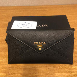 PRADA - PRADA レター型 長財布