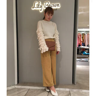 Lily Brown - Lily Brown♡袖ループニット