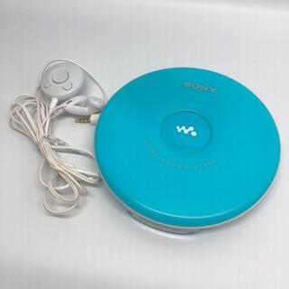 ソニー(SONY)のSONY CDウォークマン ブルー D-EJ002 L(ポータブルプレーヤー)