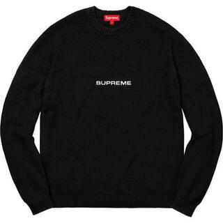 シュプリーム(Supreme)のSupreme Chest Stripe Raglan Sweater(ニット/セーター)