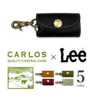 リー(Lee)のLEE×CARLOS 高級グローブレザー キーケース ワイン(キーケース)
