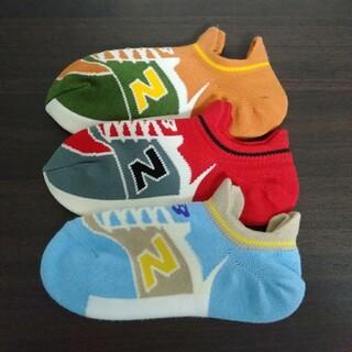 ニューバランス(New Balance)の4☆ニューバランス スニーカーソックス(靴下/タイツ)