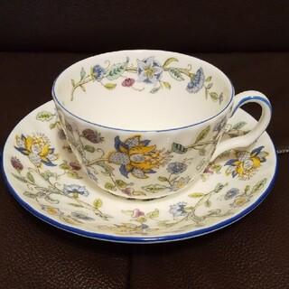 ミントン(MINTON)のミントンのティーカップ&ソーサー ブルーライン(グラス/カップ)