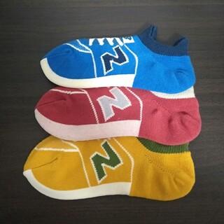 ニューバランス(New Balance)の5☆ニューバランス スニーカーソックス(靴下/タイツ)