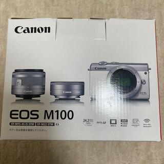 Canon - Canon EOS M100ダブルレンズセット