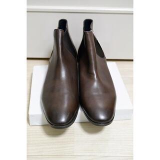 マドラス(madras)の新品 フープディドゥ ビジネスシューズ サイドゴア 茶 43 27cm 革(ブーツ)