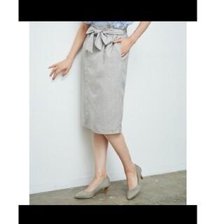 ロペピクニック(Rope' Picnic)のロペピクニック リボンタイトスカート(ひざ丈スカート)