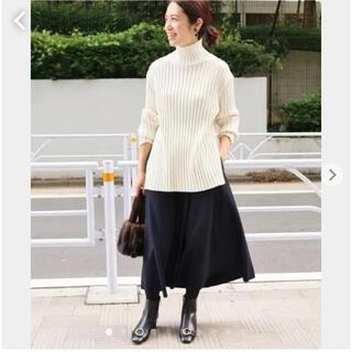 IENA - ハード圧縮フレアスカート