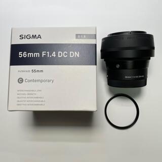 SIGMA - SIGMA Contemporary 56mm F1.4 DC DNソニーE