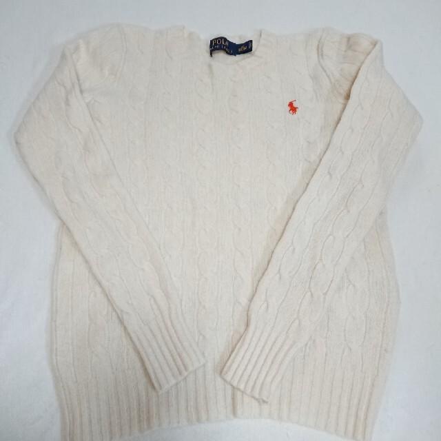Ralph Lauren(ラルフローレン)のラルフローレン ニット セーター キッズ/ベビー/マタニティのキッズ服女の子用(90cm~)(ニット)の商品写真