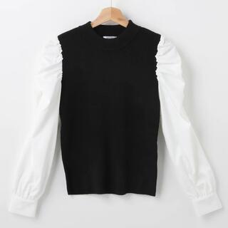 INGNI - INGNI  袖異素材パワショルニット