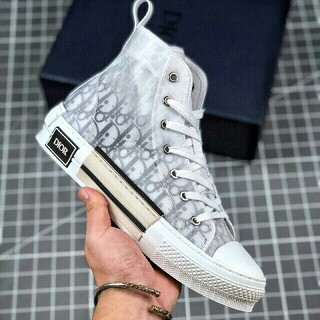 Dior - Dior B23 Oblique High Top Sneakers