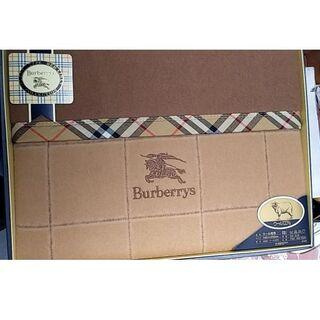 BURBERRY - BURBERRY ウール毛布 ウール100% 140cm×200cm