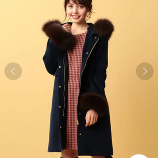 ミーア(MIIA)のMIIA♡5wayFOXファーコート(毛皮/ファーコート)
