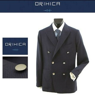 ORIHICA - オリヒカ ダブルジャケット ブレザー メタルボタン Sサイズ