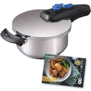 アイリスオーヤマ(アイリスオーヤマ)のアイリスオーヤマ 片手圧力鍋 3L KAR-3L(調理機器)