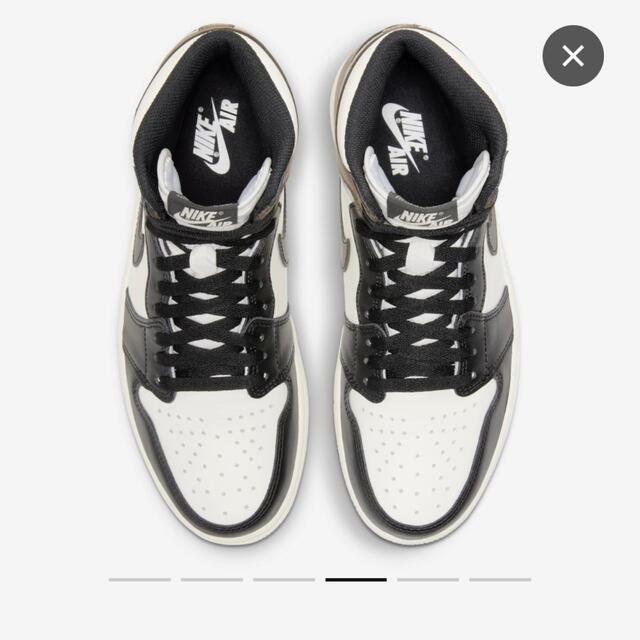 NIKE(ナイキ)のAIR JORDAN 1 RETRO HIGH OG DARK MOCHA メンズの靴/シューズ(スニーカー)の商品写真