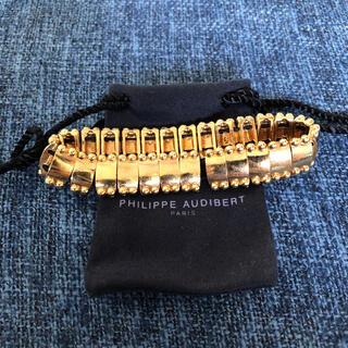 フィリップオーディベール(Philippe Audibert)のPHILIPPE AUDIBERT  ブレスレット ゴールド 新品◎(ブレスレット/バングル)