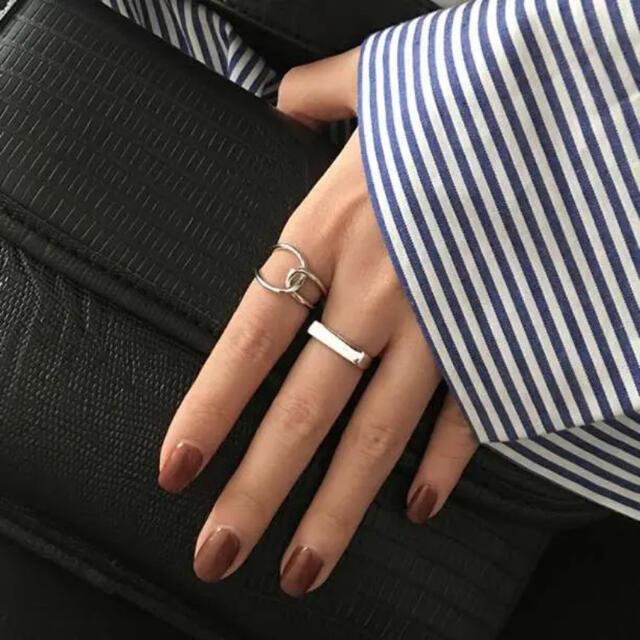 シルバーリングセット  925  新品 レディースのアクセサリー(リング(指輪))の商品写真
