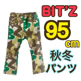 ビッツ(Bit'z)のビッツ 秋冬 起毛 パンツ 長ズボン 星柄 男の子(パンツ/スパッツ)