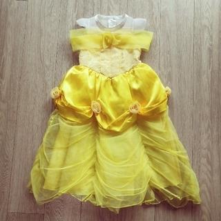 Disney - 美女と野獣 ベル ドレス 100cm