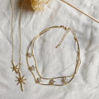 リリーブラウン(Lily Brown)の星降るネックレス&チョーカーセット(ネックレス)