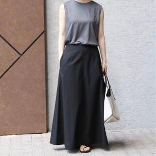 IENA - 【IENA】ハイツイストコットンツイルトラペーズスカート 36サイズ