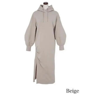 snidel - herlipto Dropped Shoulder Hoodie Dress