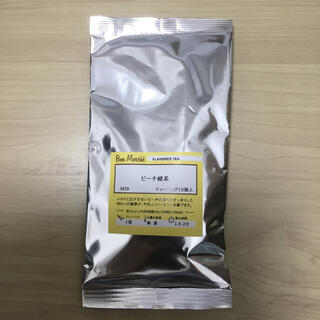ルピシア ピーチ緑茶 ティーバッグ10p入り(茶)