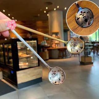 スターバックスコーヒー(Starbucks Coffee)のスターバックス ティーカップスプーン(菓子/デザート)