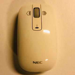 エヌイーシー(NEC)のNEC ワイヤレスマウス MG-1123(PC周辺機器)